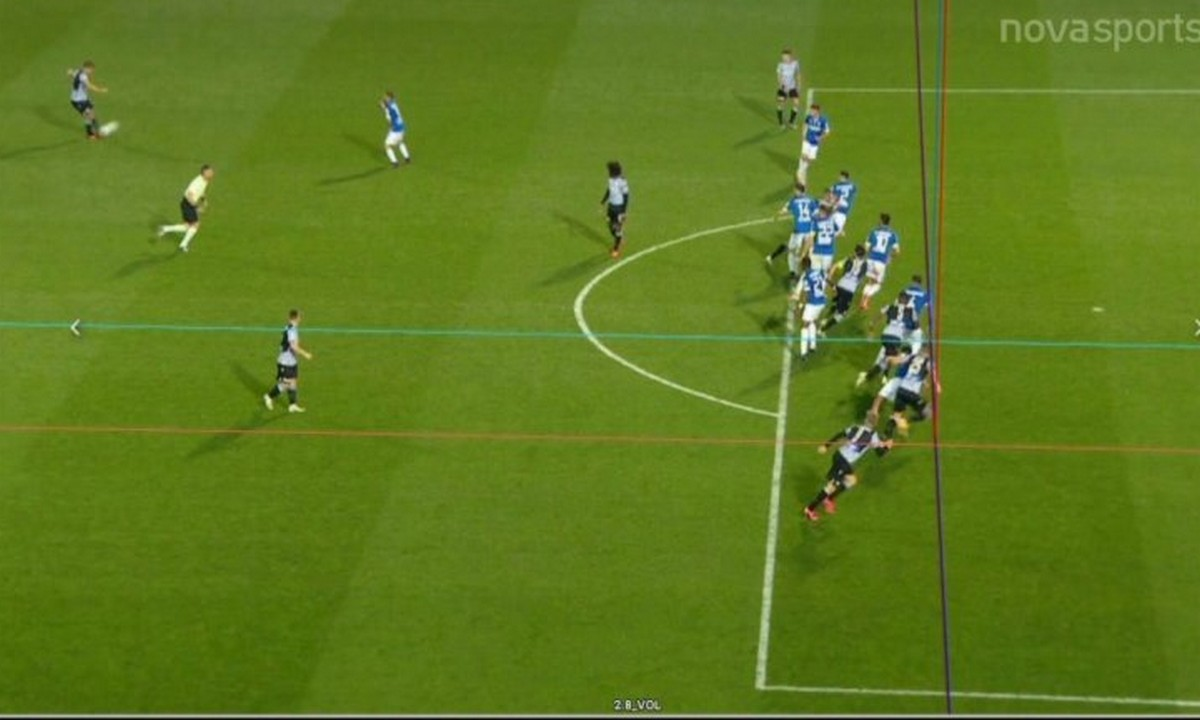 ΠΑΟΚ – ΠΑΣ Γιάννινα 2-1: Το γκολ του Ελ Καντουρί με τις γραμμές του VAR (vid)