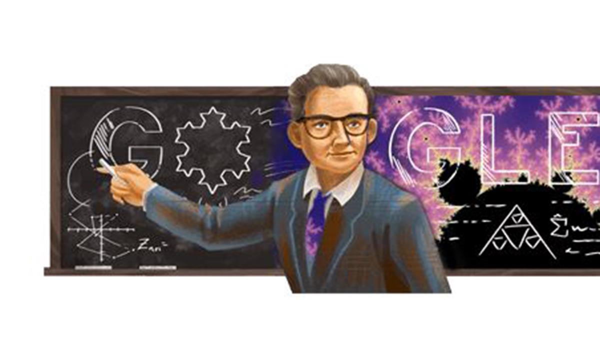 Google – Doodle: Τιμά τον μαθηματικό Μπενουά Μάντελμπροτ