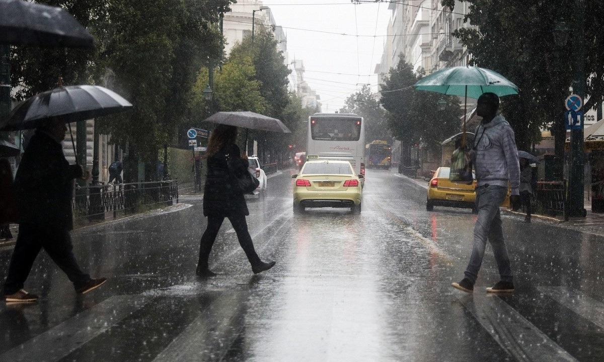 Καιρός 25/11: Τοπικές βροχές και καταιγίδες