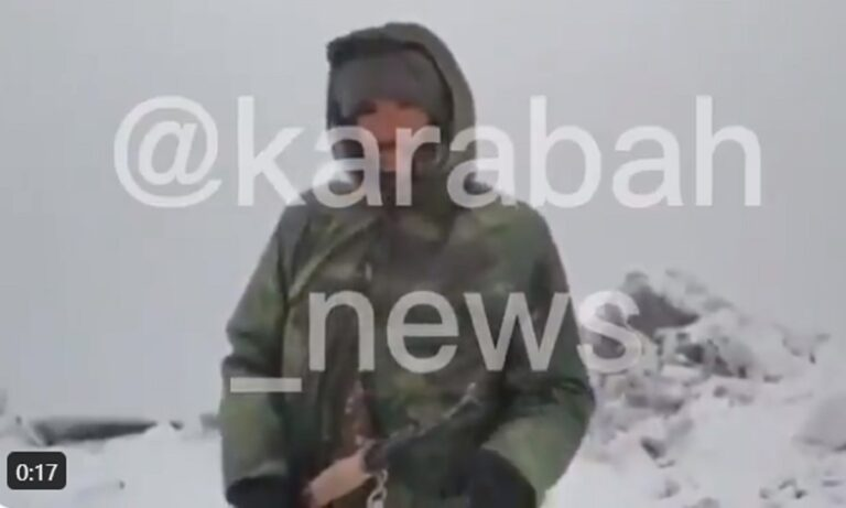 Nαγκόρνο Καραμπάχ: Χιονίζει και τέλος η αζέρικη προέλαση – Τους πρόλαβε ο χειμώνας