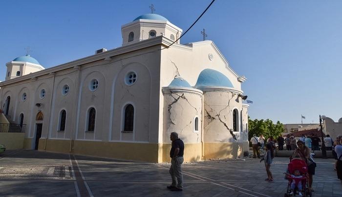 Κόλλησαν οι διαδικασίες για την αποκατάσταση των εκκλησιών στην Κω – Πέφτουν με ένα σεισμό