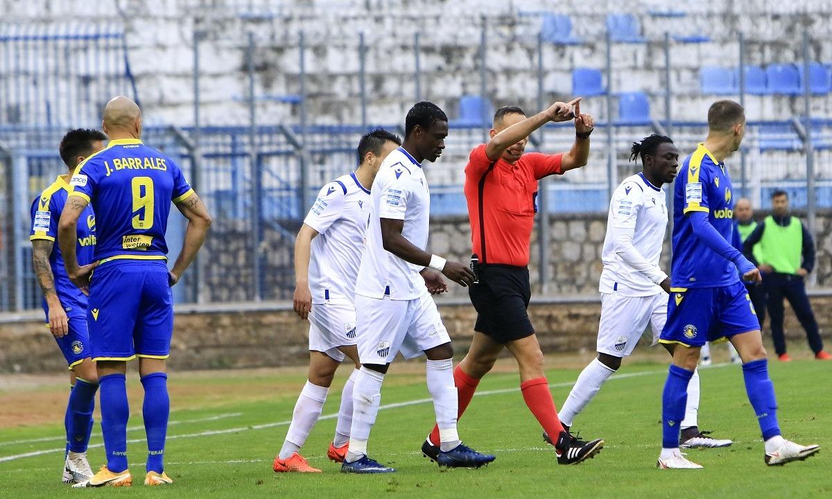 Λαμία – Αστέρας Τρίπολης 2-2: Άγγιξαν την πρώτη τους νίκη οι Φθιώτες, χαμός με το VAR!
