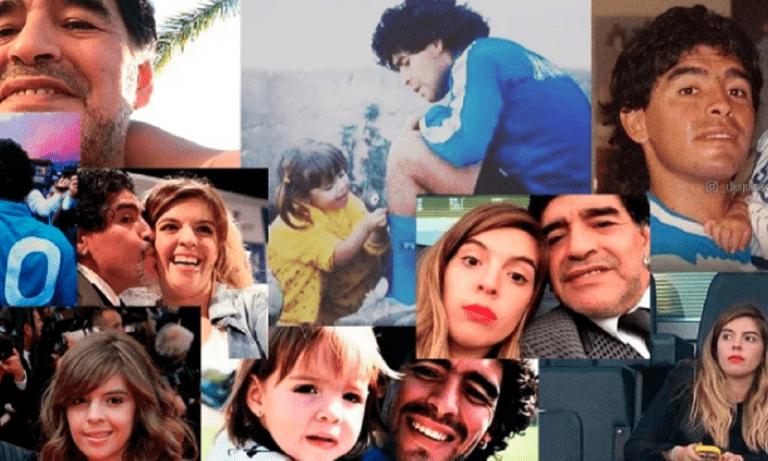 Μαραντόνα: Το συγκλονιστικό «αντίο» της κόρης του στο Instagram