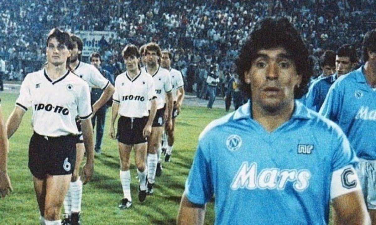 Μαραντόνα: Το ρολόι που χάρισε στους παίκτες του ΠΑΟΚ το 1988 (pic)
