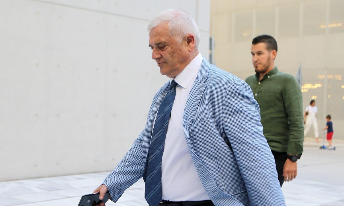 ΑΕΚ: Ξανά στο γήπεδο για επιθεώρηση ο Μελισσανίδης
