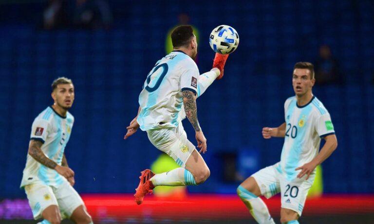 Έμεινε στο 1-1 με την Παραγουάη η Αργεντινή