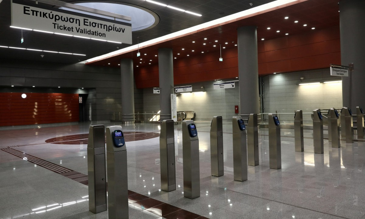 Αττική: Άνοιξαν οι σταθμοί του μετρό