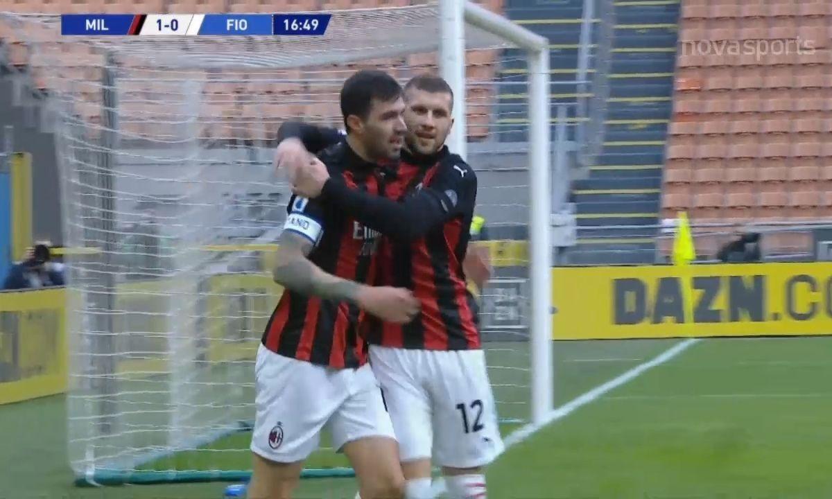 Μίλαν – Φιορεντίνα 2-0: Ασταμάτητη και χωρίς τον Ιμπραΐμοβιτς