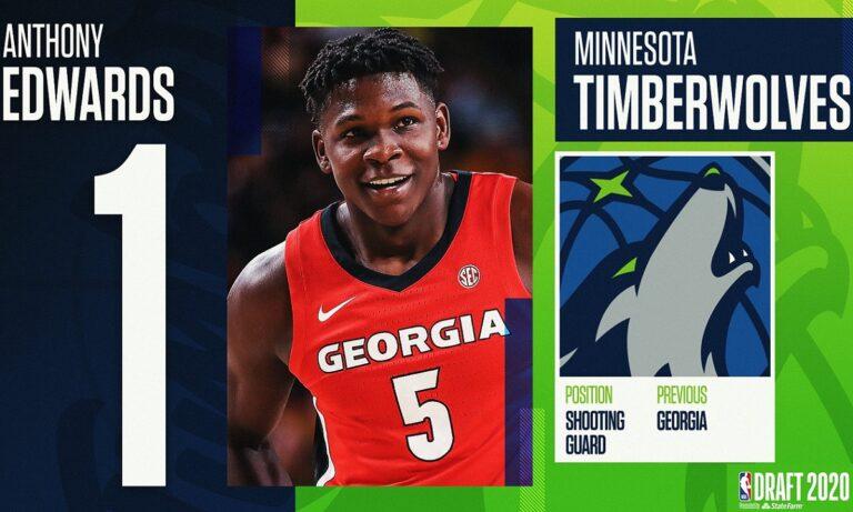 NBA Draft: Στην κορυφή ο Άντονι Έντουαρτς για τους Τίμπεργουλβς