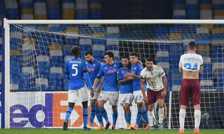 Europa League: Πήρε προβάδισμα η Νάπολι (vids)