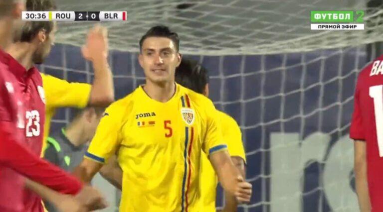 Νεντελτσεάρου ο… σκόρερ: Εβαλε 2 γκολ στο 5-3 της Ρουμανίας!