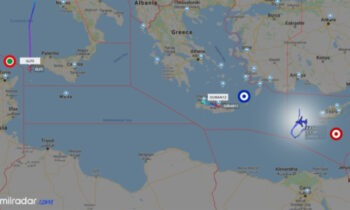 Oruc Reis: Μία άγνωστη μάχη εξελίσσεται κάθε μέρα στον αέρα της Ανατολικής Μεσογείου, πάνω από το τουρκικό ερευνητικό.