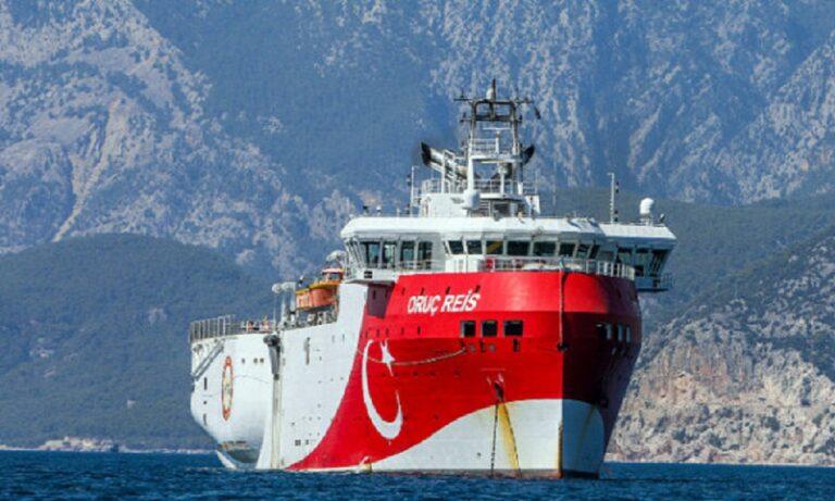 Ελληνοτουρκικά: Ανατολικά της Ρόδου το ORUC REIS
