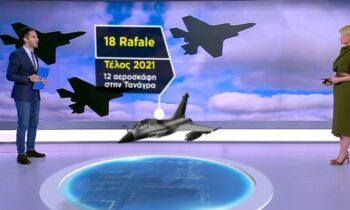 Rafale: Με γοργούς ρυθμούς προχωρά η αγορά και η μετεγκατάσταση των 18 γαλλικών μαχητικων στην Ελλάδα.