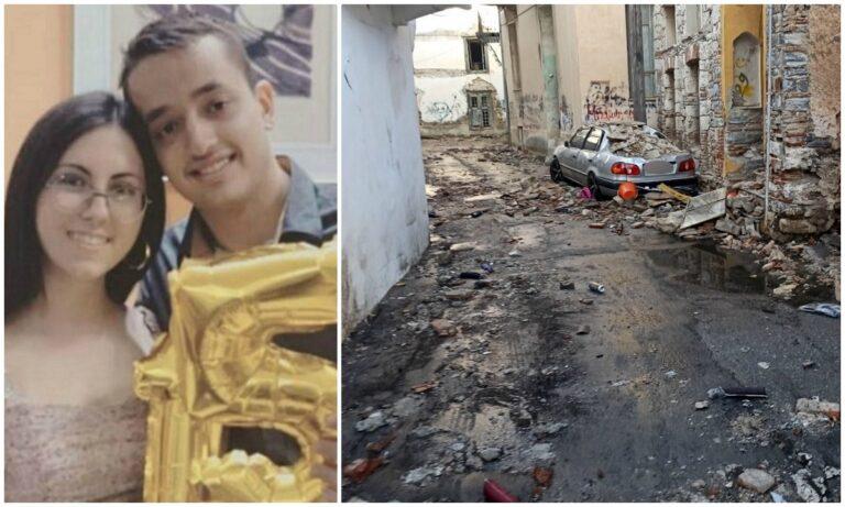 «Εγκαταλελειμμένο 30 χρόνια ήταν το κτήριο που έπεσε», καταγγέλλει ο πατέρας του Άρη. Θα αποδοθούν ευθύνες;