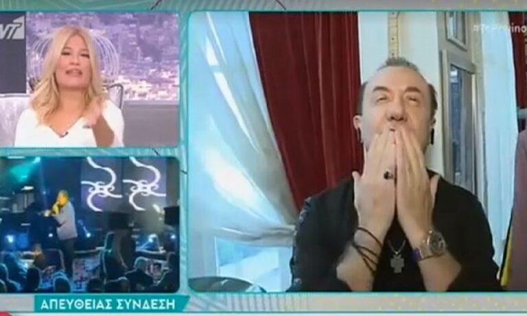 Φαίη Σκορδά: Γκάφα ολκής! Ρώτησε τον Λευτέρη Πανταζή αν μιλάει με τον Gianni Versace!