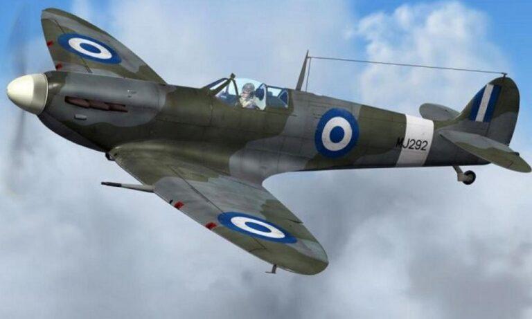 Supermarine Spitfire: Το θρυλικό ελληνικό αεροσκάφος σε δοκιμαστική πτήση (vid)