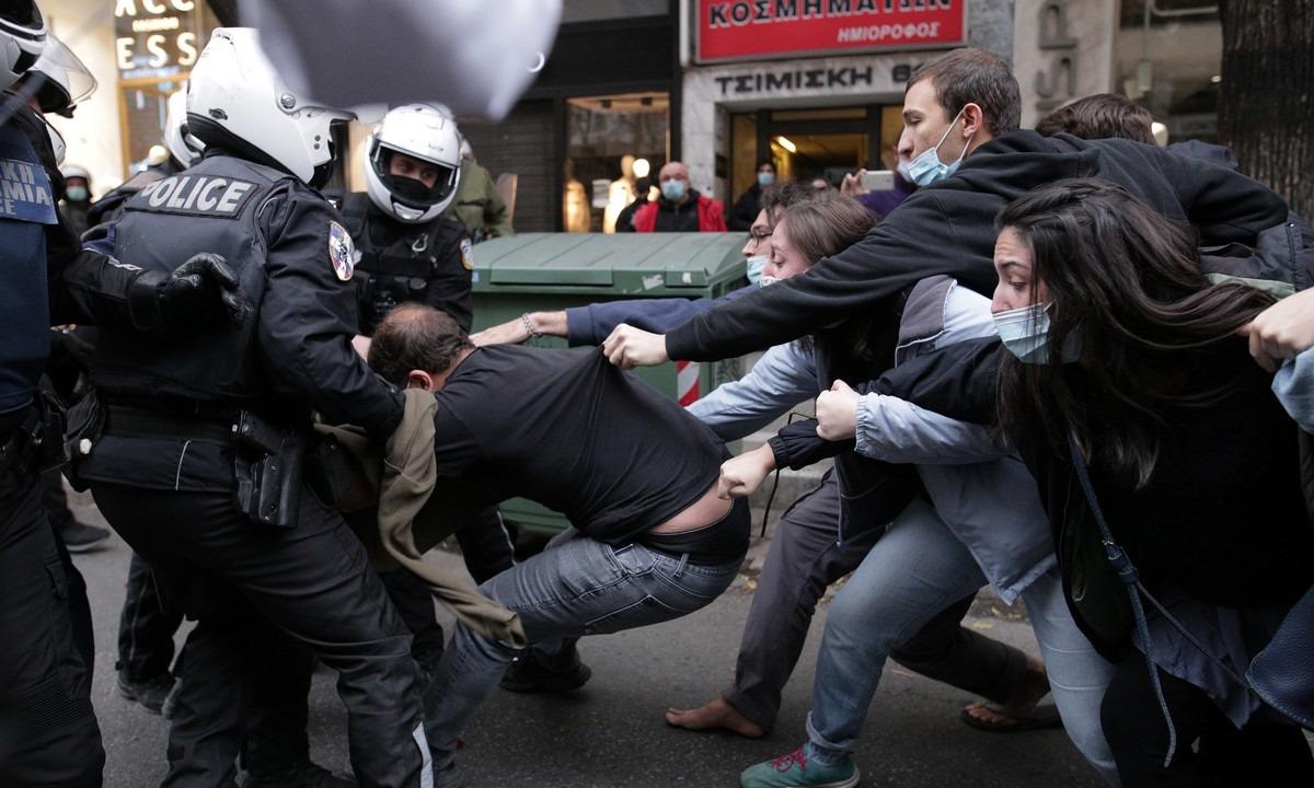 Θεσσαλονίκη: Στον εισαγγελέα οι έξι συλληφθέντες της κινητοποίησης