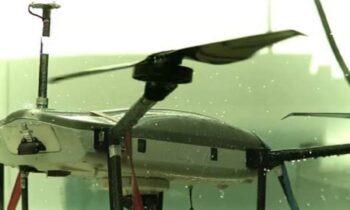 Βayraktar: Το drone παρατήρησης THOR των Ισραηλινών δοκιμάστηκε λένε και με ισχυρή βροχή.