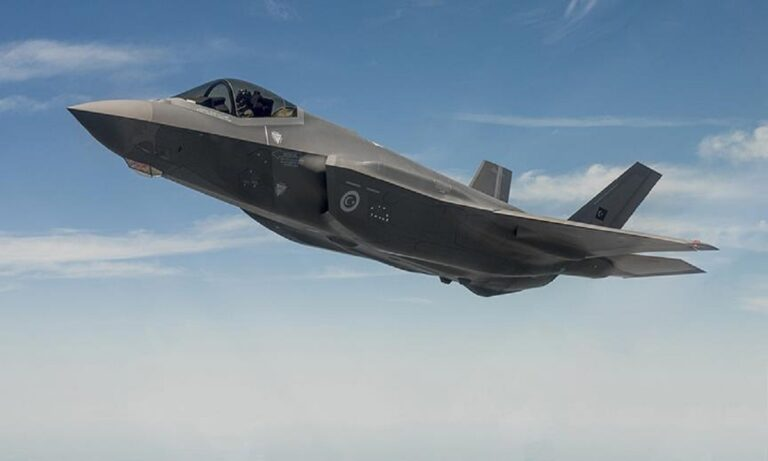 Ελληνοτουρκικά: Ένας πιλότος από την Τουρκία έκανε την πρώτη πτήση στον αμερικανικό μαχητικό πέμπτης γενιάς F-35 τον Αύγουστο του 2018.
