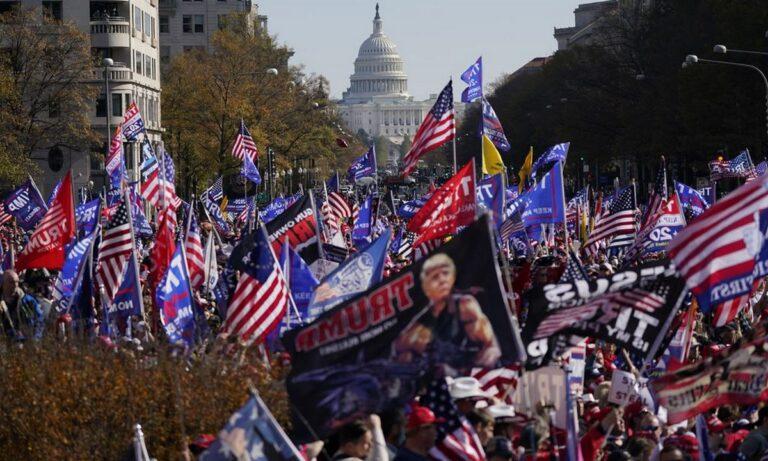 ΗΠΑ: Συναγερμός για διαδήλωση υποστηρικτών του Τραμπ (vid)