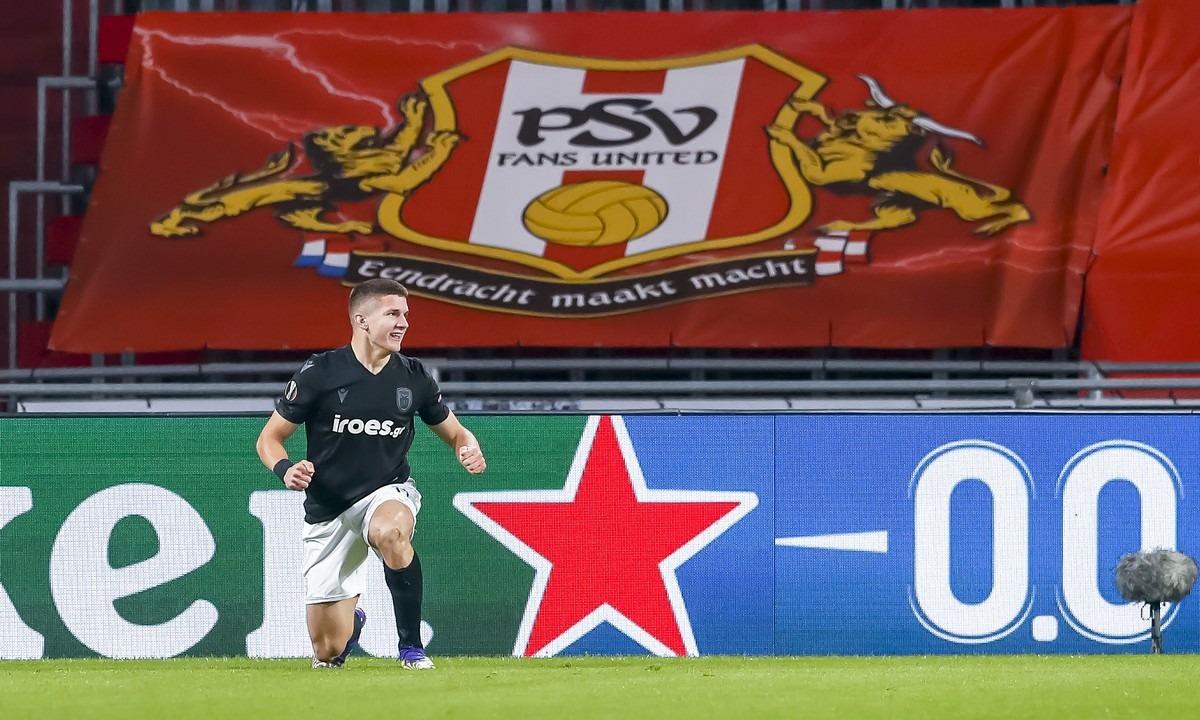 Αϊντχόφεν – ΠΑΟΚ 3-2: Τα highlights του αγώνα (vid)