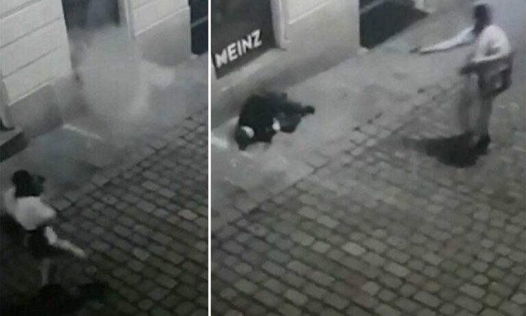 Επίθεση στη Βιέννη – Βίντεο σοκ: Εκτέλεση εν ψυχρώ!
