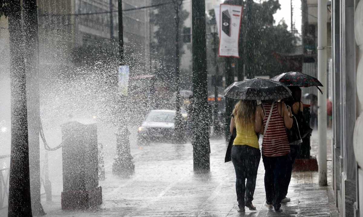 Καιρός 21/11: Βροχές και πτώση της θερμοκρασίας!