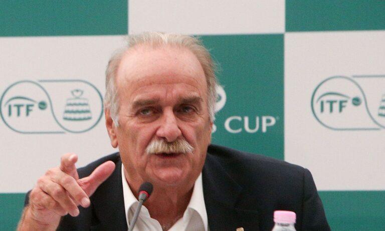 Τένις: Δεύτερος αντιπρόεδρος της Ευρωπαϊκής Ομοσπονδίας ο Σπύρος Ζαννιάς