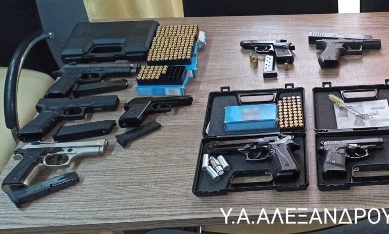 Έβρος: Εννέα άτομα οπλοφορούσαν παράνομα