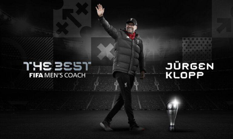 Κλοπ: Κορυφαίος προπονητής της χρονιάς και πάλι ο Γερμανός