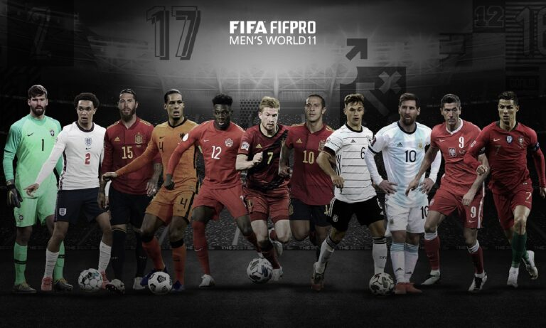 FIFA: Η κορυφαία ενδεκάδα γεμάτη «αστέρια» (pic)