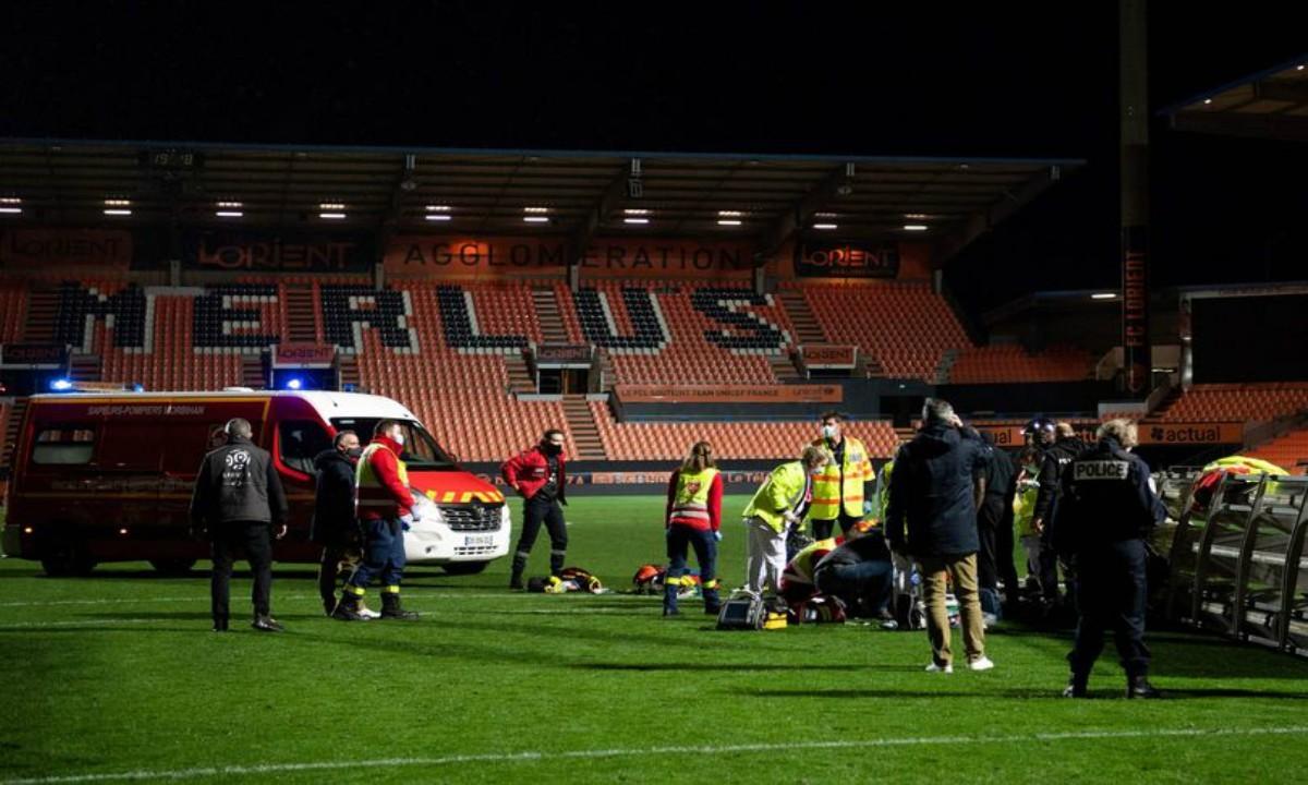 ΣΟΚ στη Ligue 1: Προβολέας καταπλάκωσε τον υπεύθυνο αγωνιστικού χώρου της Λοριάν και τον σκότωσε (pics)
