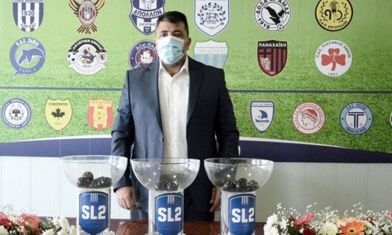 Λεουτσκάκος: «Σύντομα μπορεί να ξεκινήσουν οι αγώνες»