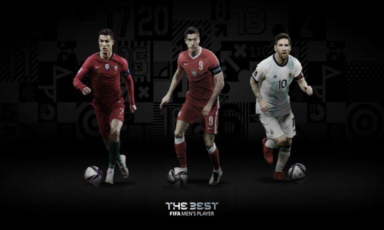 FIFA: Μέσι, Ρονάλντο και Λεβαντόφσκι για το βραβείο του καλύτερου παίκτη της χρονιάς