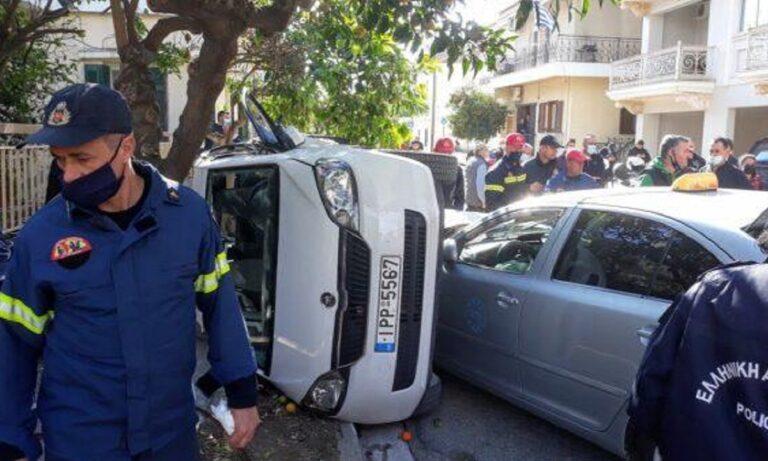 Μεσολόγγι: Σοβαρό τροχαίο για τον Ντεβόντε Γκριν, απεγκλωβίστηκε από την πυροσβεστική