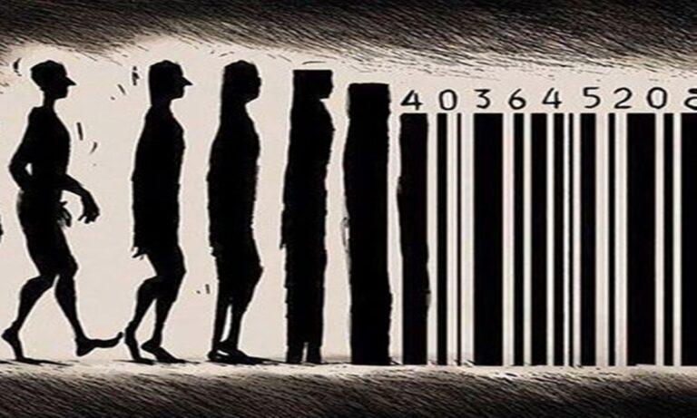 Άνθρωποι μετατρέπονται σε barcode