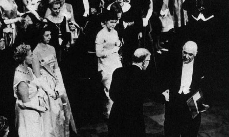 10 Δεκεμβρίου 1963: Ο Γιώργος Σεφέρης λαμβάνει το βραβείο Νόμπελ (vid)