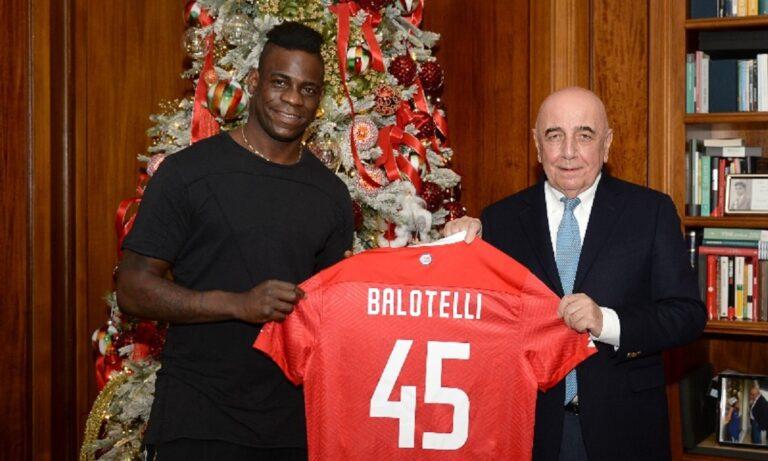 Μπαλοτέλι: Συνεχίζει την καριέρα του στη Serie B (pics)