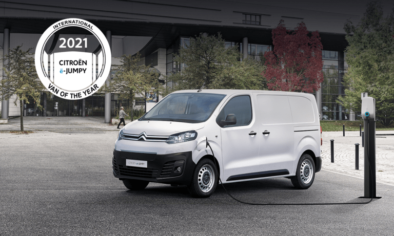Το νέο CITROËN Ë-JUMPY ανακηρύχθηκε «International Van Of The Year 2021»!