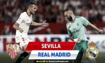 Σεβίλλη - Ρεάλ Μαδρίτης LIVE