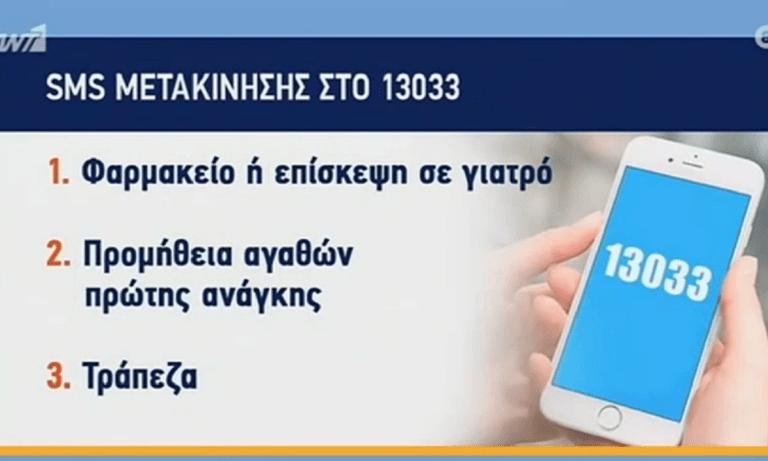 13033: Το σκληρό lockdown φέρνει αλλαγές στα SMS