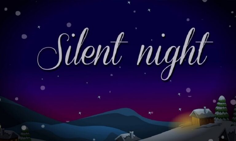 25 Δεκεμβρίου: Παρουσιάζεται για πρώτη φορά το τραγούδι «Silent Night» (vid)