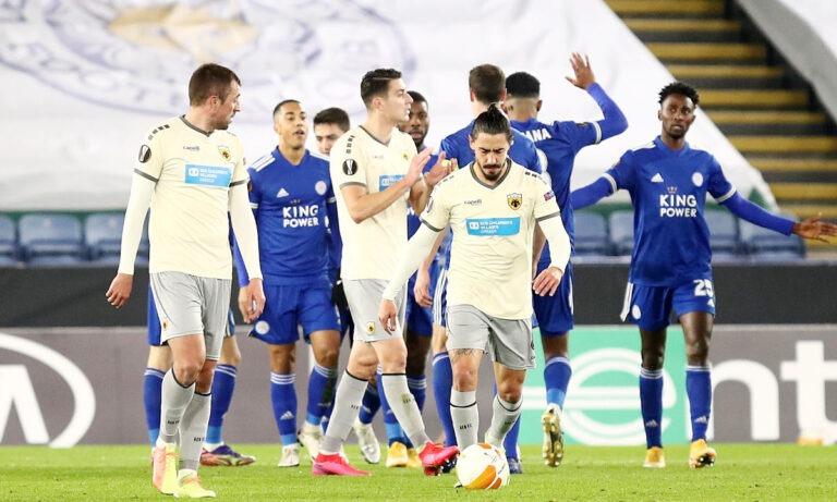 Λέστερ-ΑΕΚ 2-0: Και πάλι καλά να λέει…