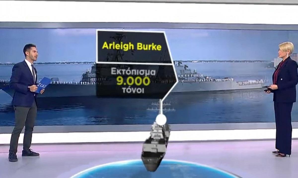 Φρεγάτες: Ζήτησε η Αθήνα από τις ΗΠΑ το πανίσχυρο πλοίο Αrleigh Burke