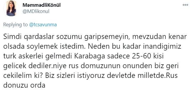 Ναγκόρνο - Καραμπάχ: Άρχισαν οι αντιδράσεις στην Τουρκία, αναφορικά με την παρουσία των Ρώσων κυανόκρανων στο Αρτσάχ.