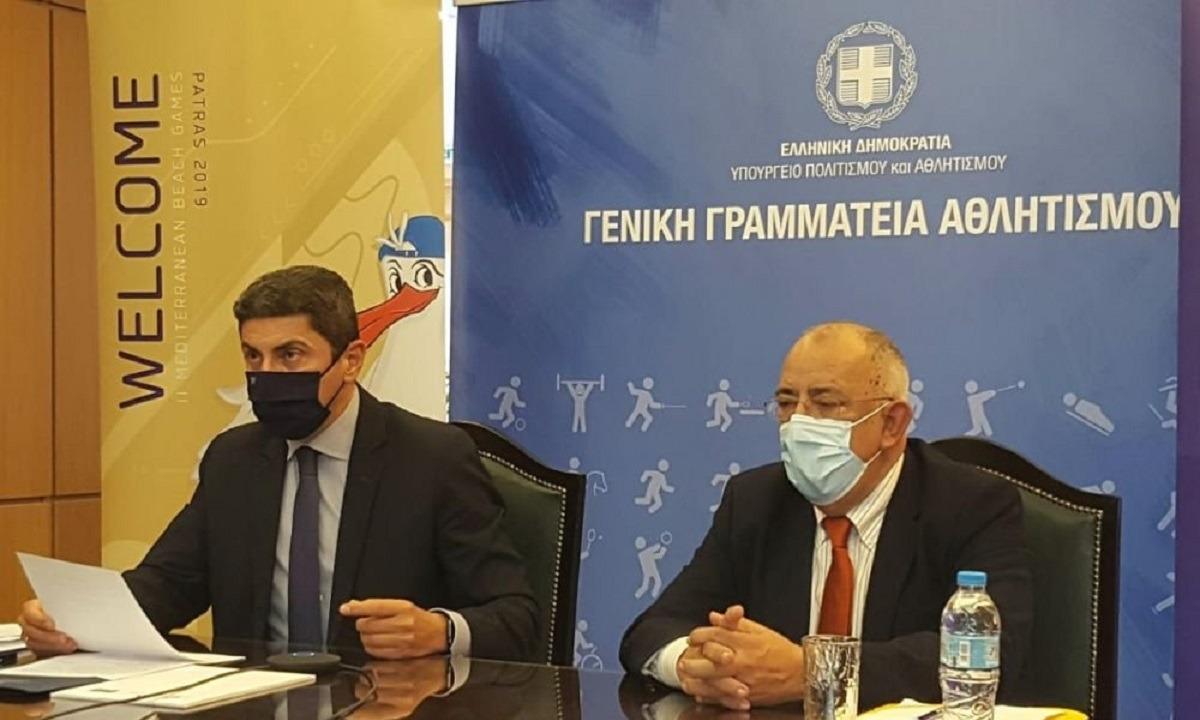 Αυγενάκης: «Το νέο χρόνο θα μιλάμε για επανέναρξη πρωταθλημάτων»