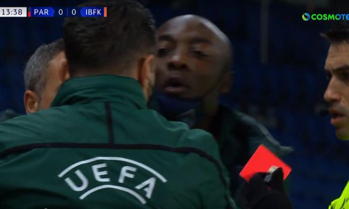 Champions League: Έφυγε η Μπασάκ από το γήπεδο, λόγω ρατσιστικής επίθεσης του διαιτητή!