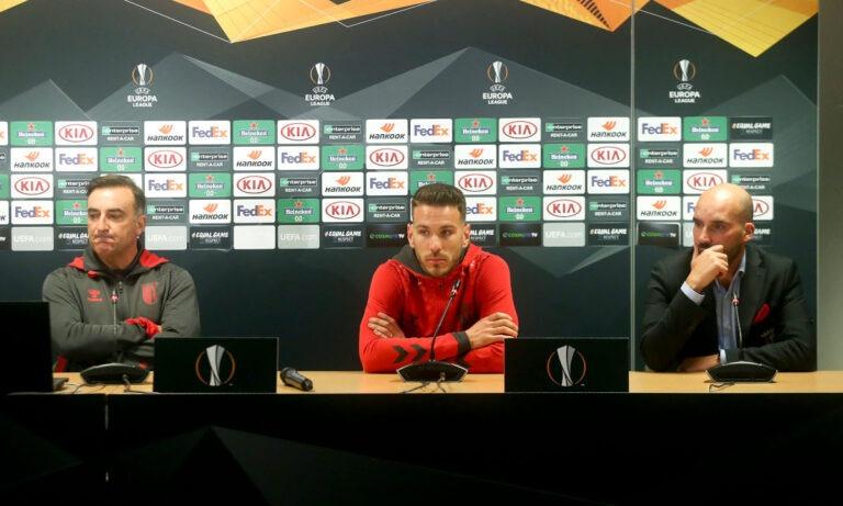 Καρβαλιάλ: «Μπορούμε να κερδίσουμε την ΑΕΚ, ξέρουμε ότι δεν είναι εύκολο παιχνίδι»
