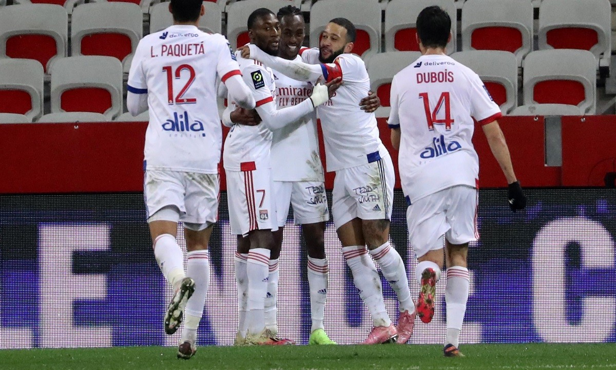 Ligue 1: Στην κορυφή η Λιόν με 4άρα (vids)